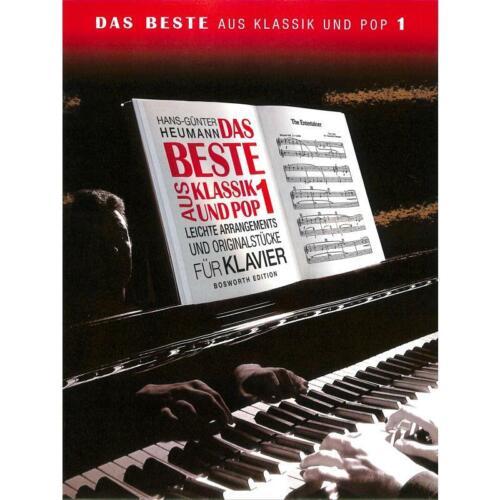 Das Beste aus Klassik und Pop Band 1 Leichte Originalstücke für Klavier