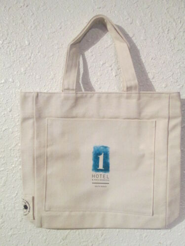 SOUTH BEACH LARGE CANVAS TOTE