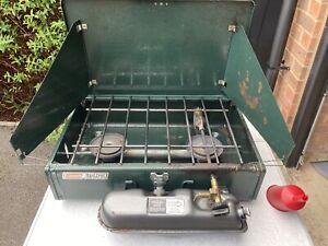 Coleman-424-Unleaded-Dual-Fuel-Petrol-Double-Burner-Camp-Stove