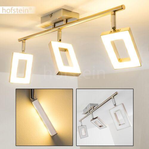 Design 3er Spot LED Deckenleuchte Wohn Schlaf Zimmer Leuchten Flur Küchen Lampen
