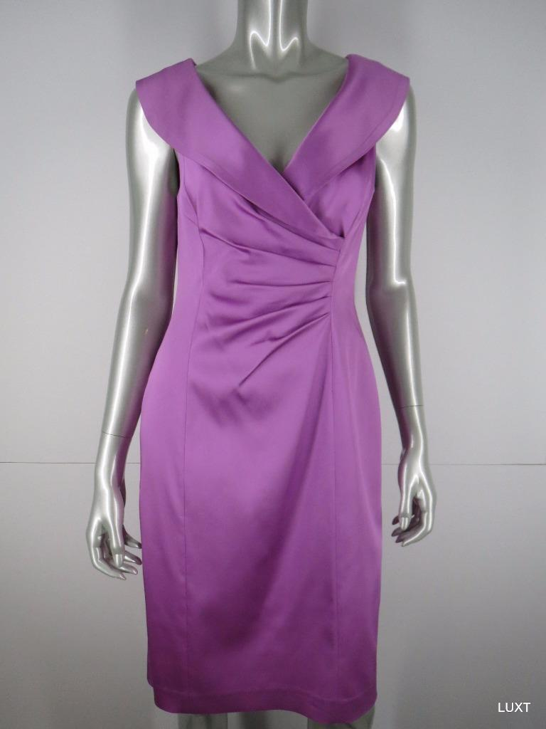 f3e78248 KAY UNGER Pink Satin Evening Dress 8 M Medium nqjpht138-Dresses ...