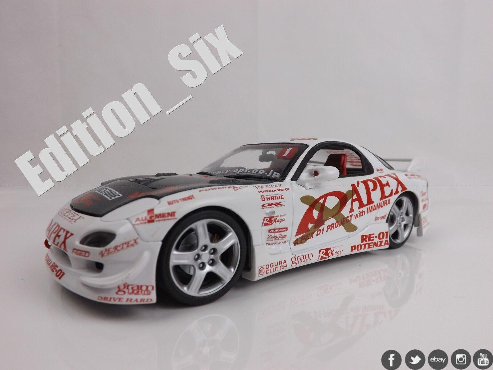 Rare Hotworks MAZDA RX7 RX7FD3S d1 drift car jdm sports car