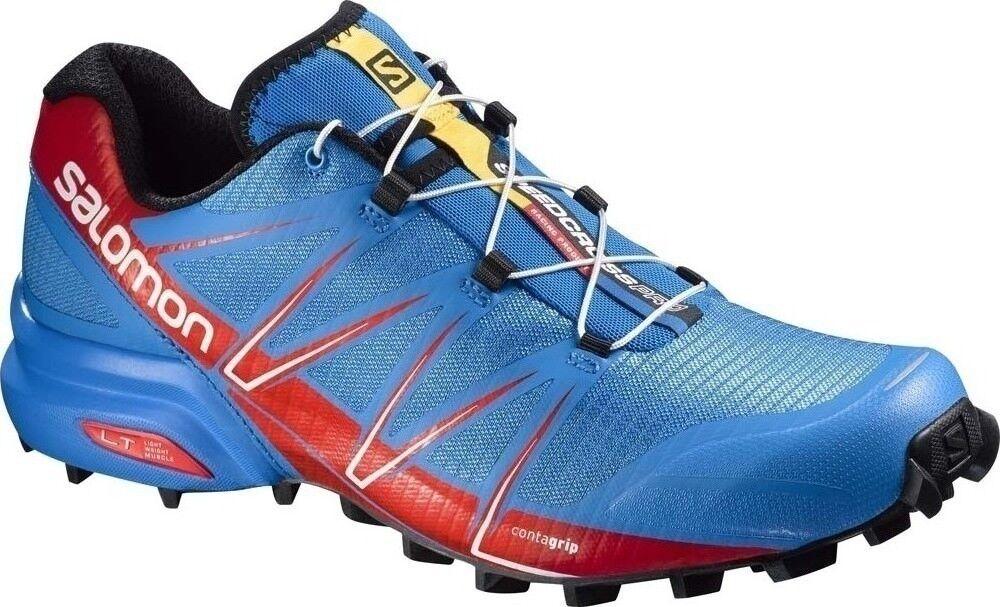 Salomon SpeedCross Pro Trail Running Men'sNEW IN BOX Size  7.5 UK  3
