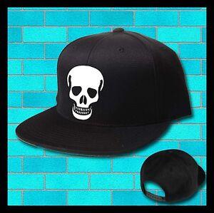 La imagen se está cargando Craneo-de-muerte-Gorra -Sombrero-Sombrero-del-cubo- bbc7bac7d84
