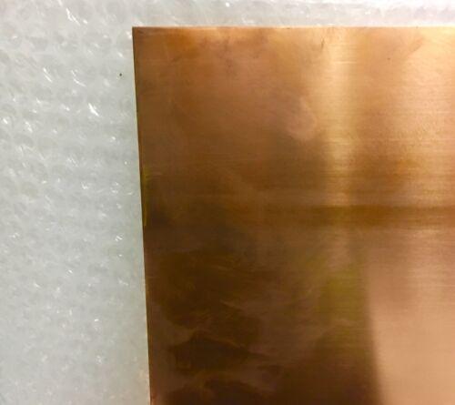 Lastra Lamiera Lamina Rame 99,9 naturale mm 0,2x500x1200 casa hobby decoupage