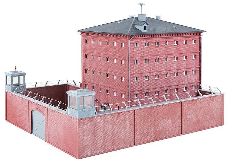 Faller 130808 Bausatz Bausatz Bausatz Gefängnis  | Angemessene Lieferung und pünktliche Lieferung  02f5a2