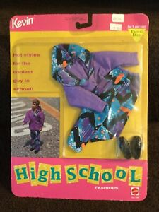 MATTEL-BARBIE-FASHION-KEVIN-HIGH-SCHOOL-FASHION-NIP-NRFP-2475