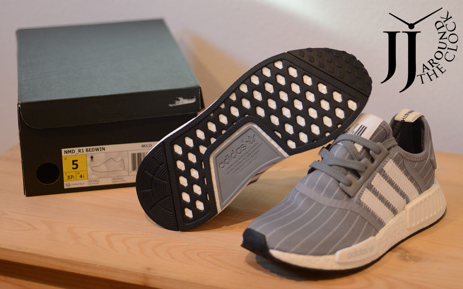 c6b6c53db ... NEW ADIDAS NMD NMD NMD R1 BEDWIN   THE HEARTBREAKERS BB3123 GREY 5.0 US  3f44a9 ...
