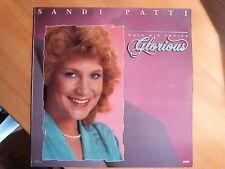 """12"""" LP - xian - Sandi Patti - Make his Praise Glorious - (12 Songs) Word"""