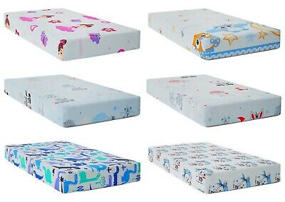 BABY CHANGING MAT PADDED HARD BASE 80x50cm fit to Cotbed 140x70cm Little Bears