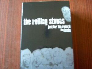 The Rolling Stones just for the Record 4x DVD