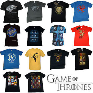 Game-Of-Thrones-T-Shirt-OFFICIAL-CLEARANCE-GOT-Lannister-Stark-Snow-Khaleesi