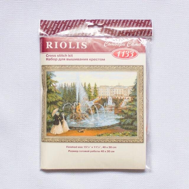 "/""Peterhof/"" Counted Cross Stitch Kit RIOLIS 1133"