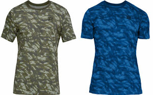 Herren-Under-Armour-T-Shirt-Sportstyle-aop-tee-Camo-Design-Bedruckt-1305671