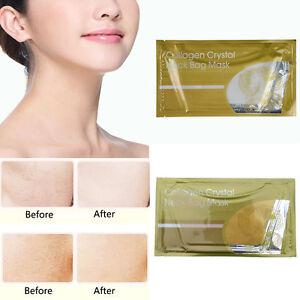 New-Collagen-Crystal-Neck-Bag-Mask-Whitening-Anti-Aging-Wrinkle-Moisture-Mask-X1