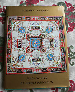 1998-catalogue-XVIII-Librairie-Sourget-Manuscrits-livres-precieux-bibliophilie