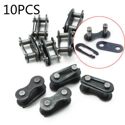 Neu 20x Bicycle Bike Chain Master Link Joint Connector Single Speed Clip Kit Set