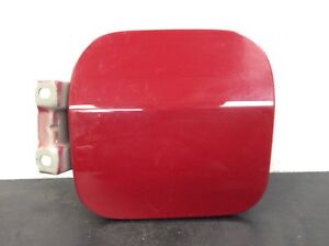 83-87 Prelude Lid Fuel Filler Cover Gas Door Gasoline Inlet Hatch Red OEM