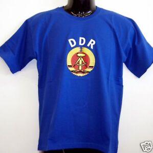 Fun-T-Shirt-DDR-Logo-blau-S-XXL