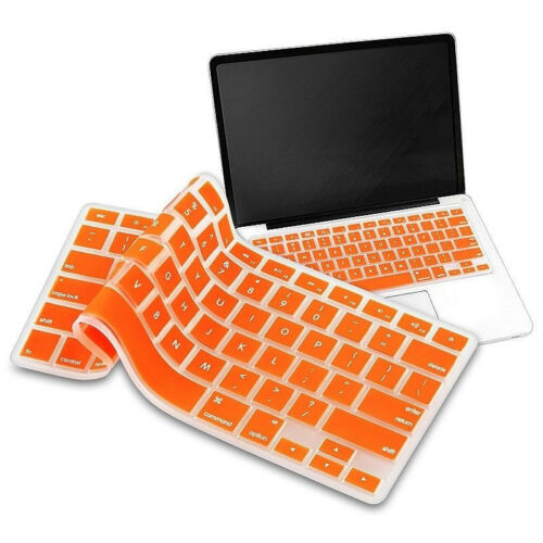 """Silicone Keyboard Skin Cover For Apple Macbook Pro AirRetina 13/"""" 15/"""" 17/"""""""