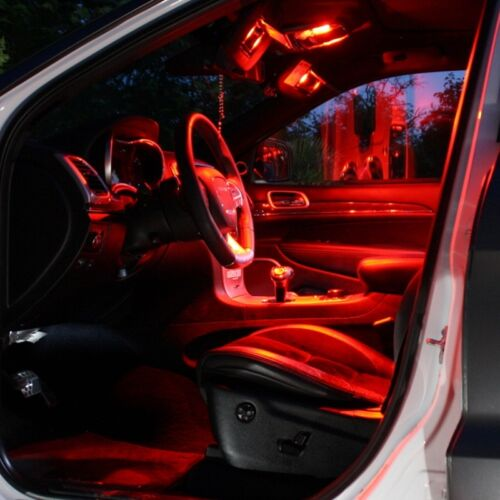 LED Modulplatine Set rot Fußraumbeleuchtung Audi A8 4H Q3 Q5 Q7 8U 8R 4M blau