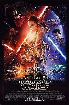 """Star Wars; The Force Awakens.Classic Sc-Fi Movie Poster A1A2A3A4Sizes"