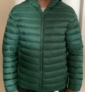 another chance 359a7 de1b8 Details about 2165Z Piumini 100 grammi uomo CIESSE PIUMINI Green Light Down  Jacket Men