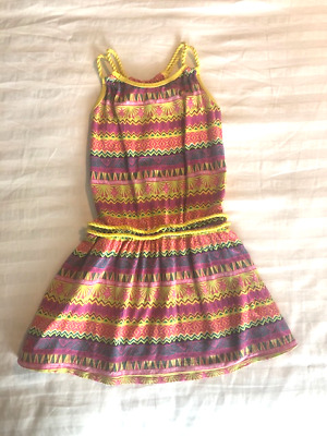 American Girl Lea Meet Dress Outfit for Child Size 12  M Medium NEW!