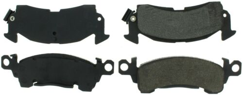 Disc Brake Pad Set-C-TEK Metallic Brake Pads-Preferred Rear Centric 102.01220