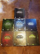 World of Warcraft All Collector's Editions Burning Crusade Lich King Cataclysm +