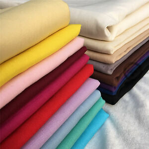 Plain 100/% Cotton Fabric Per Metre Fat Quarters Material Quilting