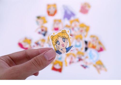Japan Anime Stickers Lot Sailor Moon 33 sheets set