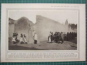 1915 Première Guerre Mondiale G.mondiale 1 Imprimé ~ Bless Graves'français Aegbp2yg-08000445-931754986
