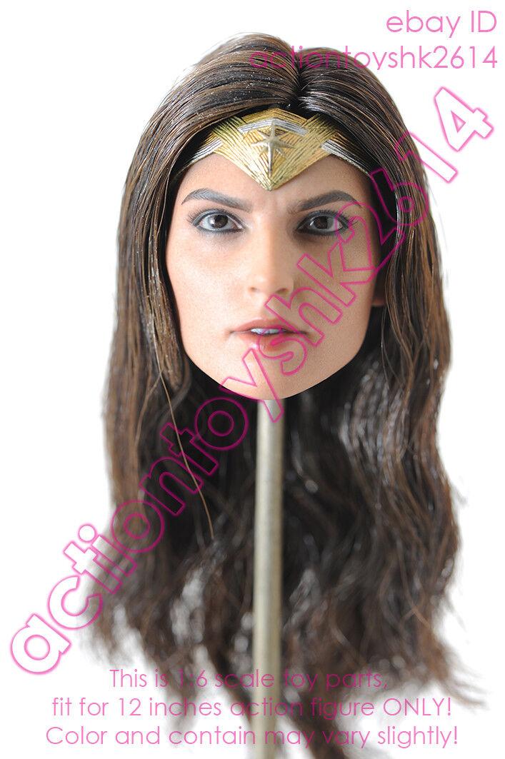 1 6 Scale Hot Toys MMS451 Justice League Wonder Woman - head sculpt