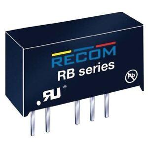RECOM-INTERNAZIONALE-rb-2405d-1W-DC-DC-CONVERTITORE-SIP7-24V-IN-5V-5V-OUT