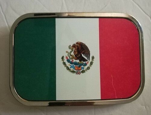 COUNTRY FLAG BELT BUCKLE