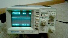 Tektronix 222a Mini Digital Storage Oscilloscope With Case