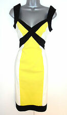 Stunning STAR Julien Macdonald Colour Block Occasion Evening Day Dress 12