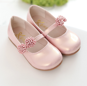 Fashion Party Dress Kid Spring Dancing Shoes Baby Girls Flower Princess Shoes