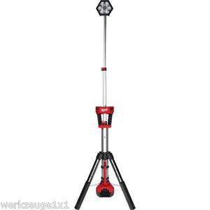 Sicherheitstechnik Überwachungstechnik-teile & -zubehör FleißIg Milwaukee M18 Sal-0 Trueview™ Akku-baustrahler Led Lampe 18volt 2000 Lumen