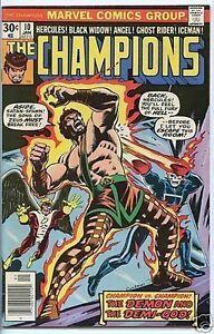 Champions-1975-series-10-fine-comic-book