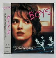 04822 F/S Ex Laserdisc BOYS WINONA RYDER SHLY-104 w/Dbi Japan