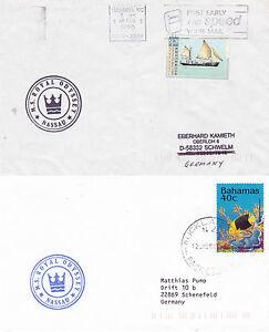 Utile Bahamas Bateau De Croisière Ms Royal Odyssey 2 Navires En Cache Couvre-afficher Le Titre D'origine