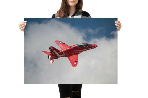 British Gift #14551 A1 Red Arrows Aeroplane Poster Art Print 60 x 90cm 180gsm