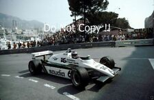 KEKE ROSBERG Williams FW08 MONACO GRAND PRIX 1982 fotografia 5