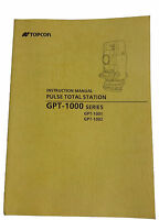 Topcon Total Station Manuals