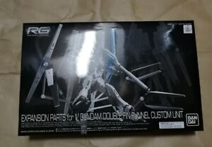 RG-1-144-EXPANSION-PARTS-for-GUNDAM-DOUBLE-FIN-FUNNEL-CUSTOM-PB-Bandai-Stock