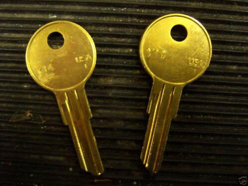 Keys Cut by Code Number-CH Series-CH251-CH1175-Cam Lock