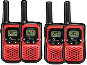 ORICOM-PMR780-HANDHELD-UHF-TWO-WAY-COMPACT-RADIO-WALKIE-QUAD-PACK-80-CHANNEL