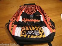Young and & Reckless book bag back pack backpack surf skate RARE animal print